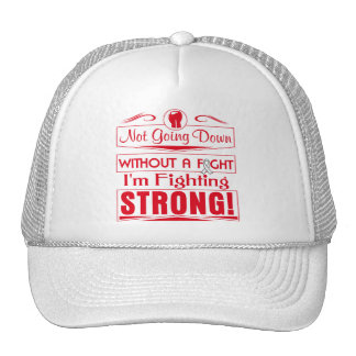 Lung Cancer I Am Fighting Strong Trucker Hat