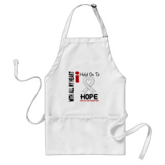 Lung Cancer I Hold On To Hope Apron