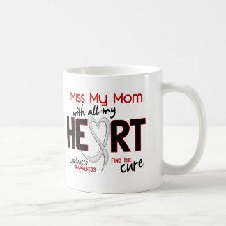 Lung Cancer I Miss My Mom Coffee Mug