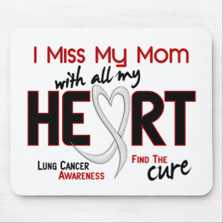 Lung Cancer I Miss My Mom Mouse Mat