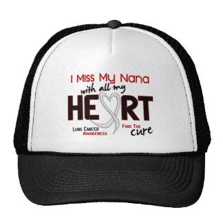 Lung Cancer I Miss My Nana Trucker Hat