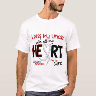 Lung Cancer I Miss My Uncle T-Shirt