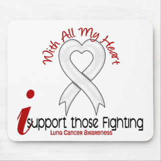 Lung Cancer I Support Those Fighting Mouse Pad