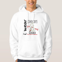 Lung Cancer I WEAR PEARL FOR MY DAD 43 Hoodie