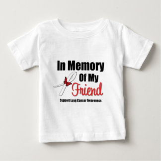 Lung Cancer In Memory of My Friend Tees