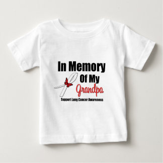 Lung Cancer In Memory of My Grandpa Shirt
