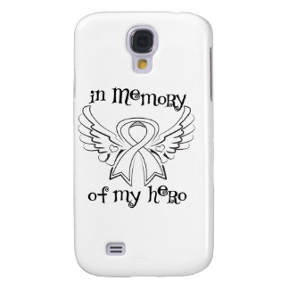 Lung Cancer In Memory of My Hero Samsung Galaxy S4 Cases