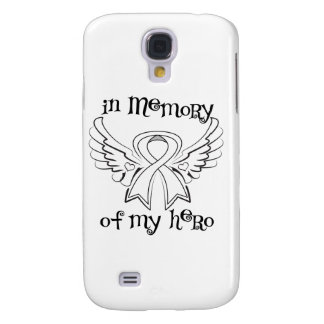 Lung Cancer In Memory of My Hero Galaxy S4 Cover