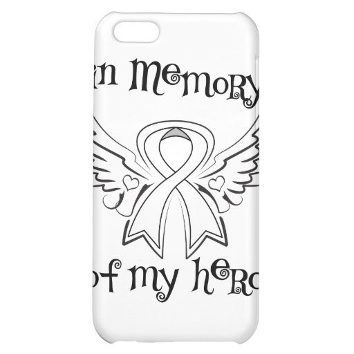 Lung Cancer In Memory of My Hero iPhone 5C Case