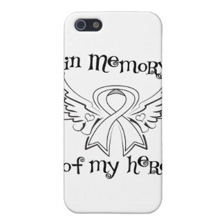 Lung Cancer In Memory of My Hero Cover For iPhone 5