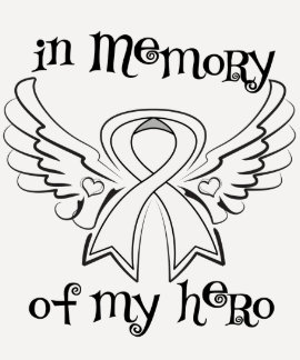 Lung Cancer In Memory of My Hero Shirts