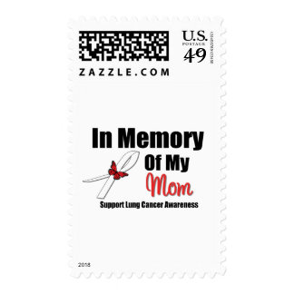Lung Cancer In Memory of My Mom Stamps