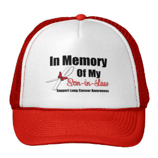 Lung Cancer In Memory Son-in-Law Trucker Hat