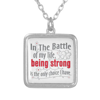 Lung Cancer In The Battle Pendant