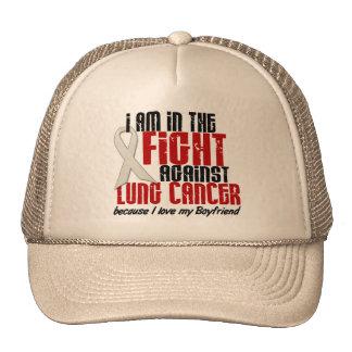 Lung Cancer IN THE FIGHT 1 Boyfriend Trucker Hat