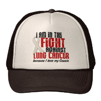Lung Cancer IN THE FIGHT 1 Cousin Trucker Hat