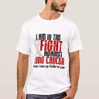 Lung Cancer IN THE FIGHT 1 Father-In-Law T-Shirt
