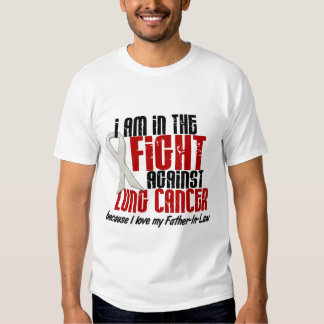 Lung Cancer IN THE FIGHT 1 Father-In-Law Tshirts
