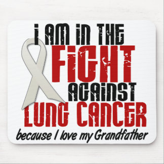 Lung Cancer IN THE FIGHT 1 Grandfather Mouse Pad