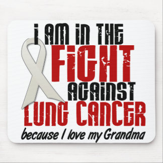 Lung Cancer IN THE FIGHT 1 Grandma Mouse Pad
