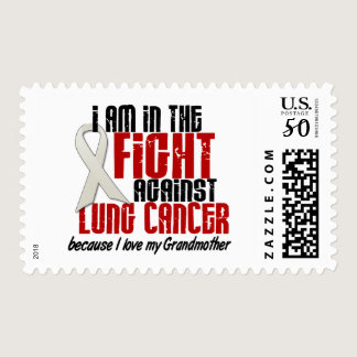 Lung Cancer IN THE FIGHT 1 Grandmother Postage