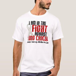 Lung Cancer IN THE FIGHT 1 Mother-In-Law T-Shirt