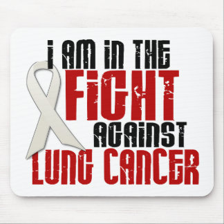 Lung Cancer IN THE FIGHT 1 Mouse Pad