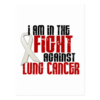 Lung Cancer IN THE FIGHT 1 Postcard