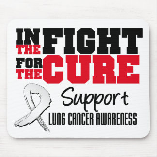 Lung Cancer In The Fight For The Cure Mouse Pad