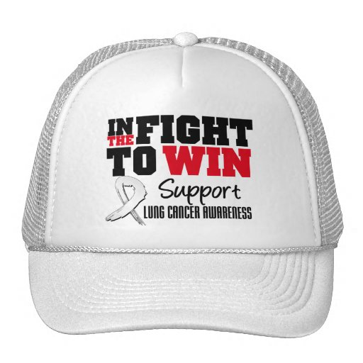 Lung Cancer In The Fight To Win Trucker Hat