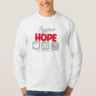 Lung Cancer Inspire Hope T Shirt