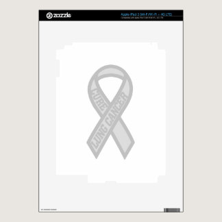 Lung Cancer iPad 3 Decals