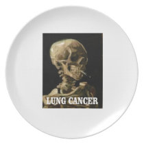 lung cancer kills dinner plate