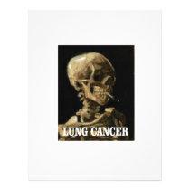 lung cancer kills letterhead