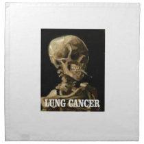 lung cancer kills napkin