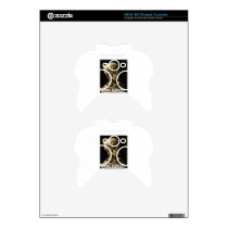 lung cancer kills xbox 360 controller decal