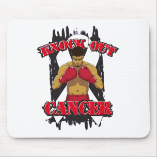 Lung Cancer Knock Out Cancer Mouse Pads