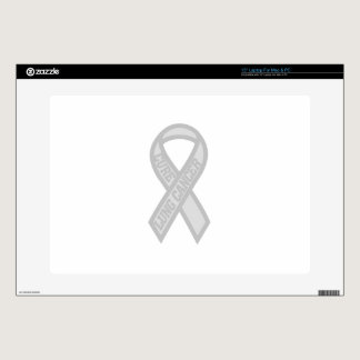 Lung Cancer Laptop Skins