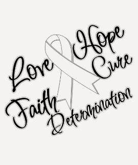 Lung Cancer Love Hope Determination Tee Shirts