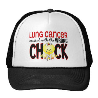Lung Cancer Messed With The Wrong Chick Trucker Hat