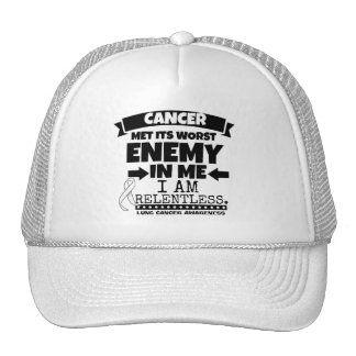 Lung Cancer Met Its Worst Enemy in Me Trucker Hat