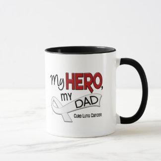 Lung Cancer MY HERO MY DAD 42 Mug
