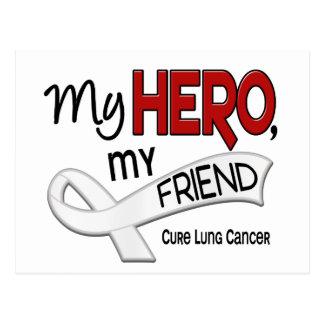 Lung Cancer MY HERO MY FRIEND 42 Postcard