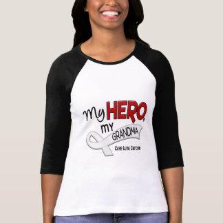 Lung Cancer MY HERO MY GRANDMA 42 T-Shirt