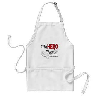 Lung Cancer MY HERO MY SISTER 42 Adult Apron