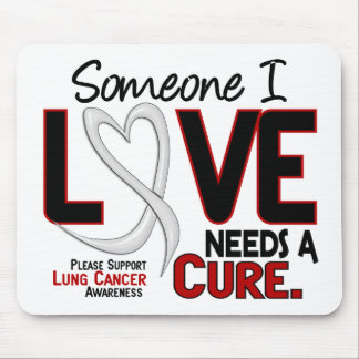 Lung Cancer NEEDS A CURE 2 Mouse Pad