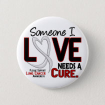 Lung Cancer NEEDS A CURE 2 Pinback Button