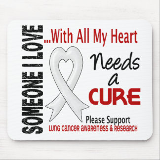 Lung Cancer Needs A Cure 3 Mouse Mat