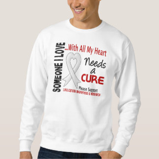 Lung Cancer Needs A Cure 3 Sweatshirt