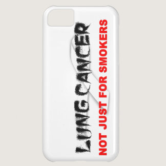 Lung Cancer: Not Just For Smokers iPhone 5C Cover